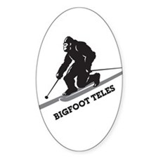 Bigfoot Teles Decal