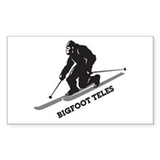 Bigfoot Teles Decal