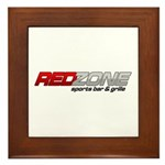 Red Zone Sports Bar and Grille Framed Tile