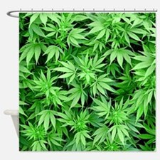 Marijuana Shower Curtain
