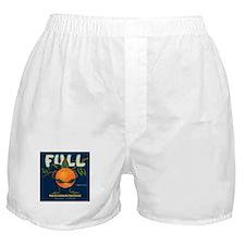 Orange Man Boxer Shorts