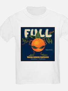Orange Man Kids T-Shirt