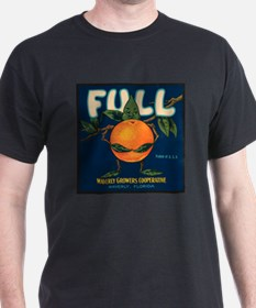 Orange Man Black T-Shirt