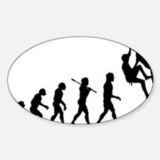 Rock Climber Rectangle Decal