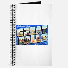 Great Falls Montana Greetings Journal