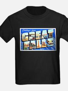 Great Falls Montana Greetings T