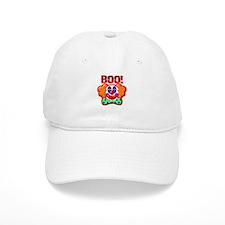 Clown Boo Halloween Costume Baseball Cap