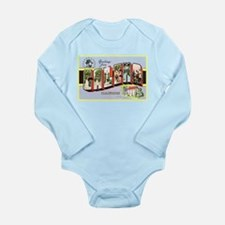 Galena Illinois Greetings Long Sleeve Infant Bodys