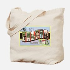 Galena Illinois Greetings Tote Bag