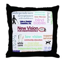 About Us Collage Throw Pillow