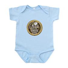 US Navy Seabees Porthole Camo Infant Bodysuit