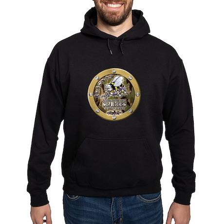 US Navy Seabees Porthole Camo Hoodie (dark)