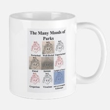 The Many Moods of Parks Mug