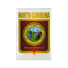 North Carolina Seal (B) Rectangle Magnet