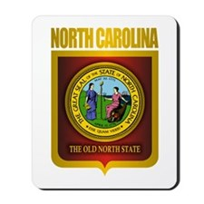 North Carolina Seal (B) Mousepad