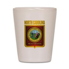 North Carolina Seal (B) Shot Glass