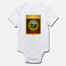 North Carolina Seal (B) Infant Bodysuit