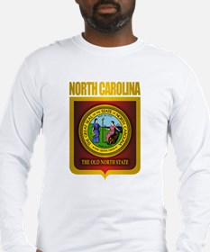 North Carolina Seal (B) Long Sleeve T-Shirt