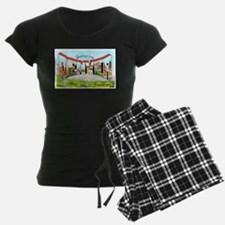 Denver Colorado Greetings Pajamas