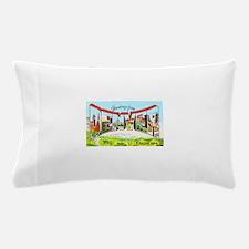 Denver Colorado Greetings Pillow Case