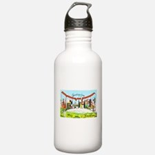 Denver Colorado Greetings Water Bottle