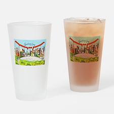 Denver Colorado Greetings Drinking Glass
