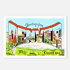 Denver Colorado Greetings Postcards (Package of 8)