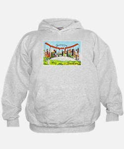 Denver Colorado Greetings Hoodie