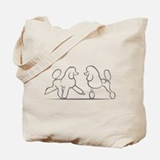 poodles of distinction Tote Bag