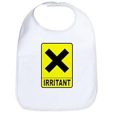 Irritant logo Bib