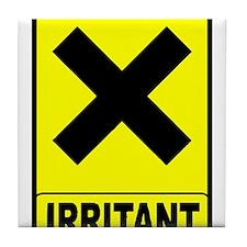 Irritant logo Tile Coaster