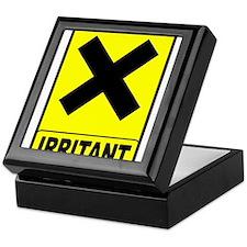 Irritant logo Keepsake Box