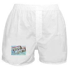 Corpus Christi Texas Greetings Boxer Shorts