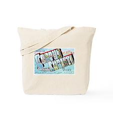 Corpus Christi Texas Greetings Tote Bag