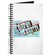 Corpus Christi Texas Greetings Journal