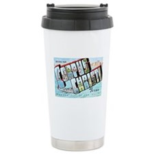 Corpus Christi Texas Greetings Travel Mug