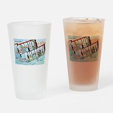 Corpus Christi Texas Greetings Drinking Glass