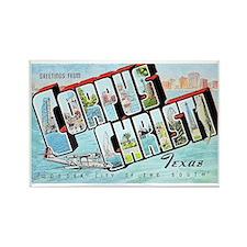 Corpus Christi Texas Greetings Rectangle Magnet