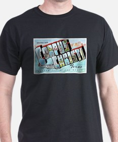 Corpus Christi Texas Greetings T-Shirt