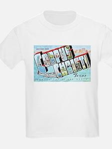 Corpus Christi Texas Greetings T-Shirt