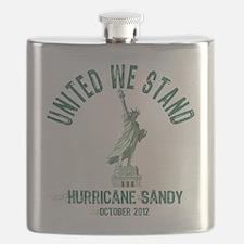Hurricane Sandy Statue Flask