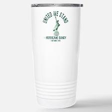 Hurricane Sandy Statue Travel Mug
