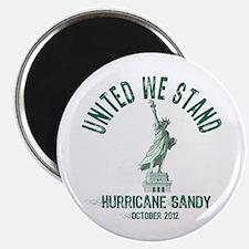 Hurricane Sandy Statue Magnet