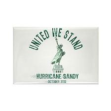Hurricane Sandy Statue Rectangle Magnet