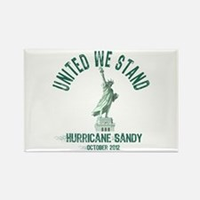 Hurricane Sandy Statue Rectangle Magnet