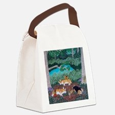 Fairy Friends Canvas Lunch Bag