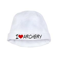 I Heart Archery baby hat