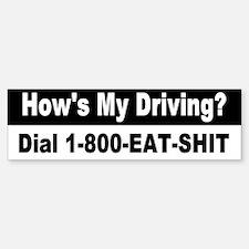 Funny Bumper Car Car Sticker