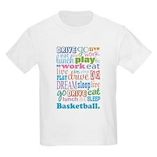 Basketball Eat Sleep Dream T-Shirt