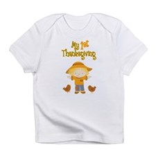 Scarecrow My First Thanksgiving Infant T-Shirt